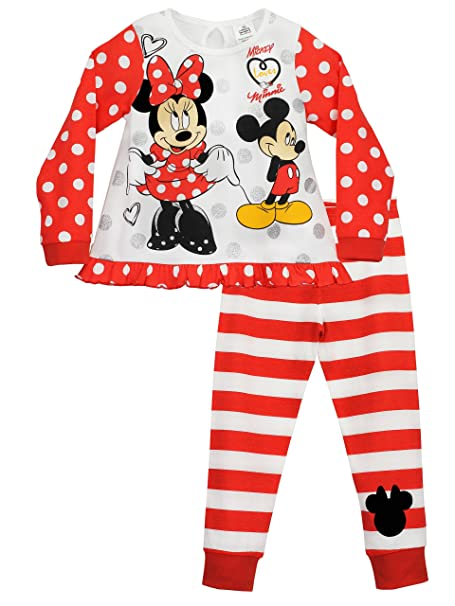 Disney Minnie Mouse - Pijama para niñas - Minnie Mouse 5 - 6 Años