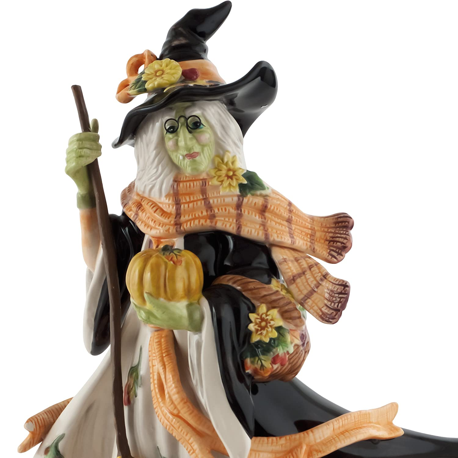Halloween Collection Harvest Witch Figurine Fitz and Floyd 68-533