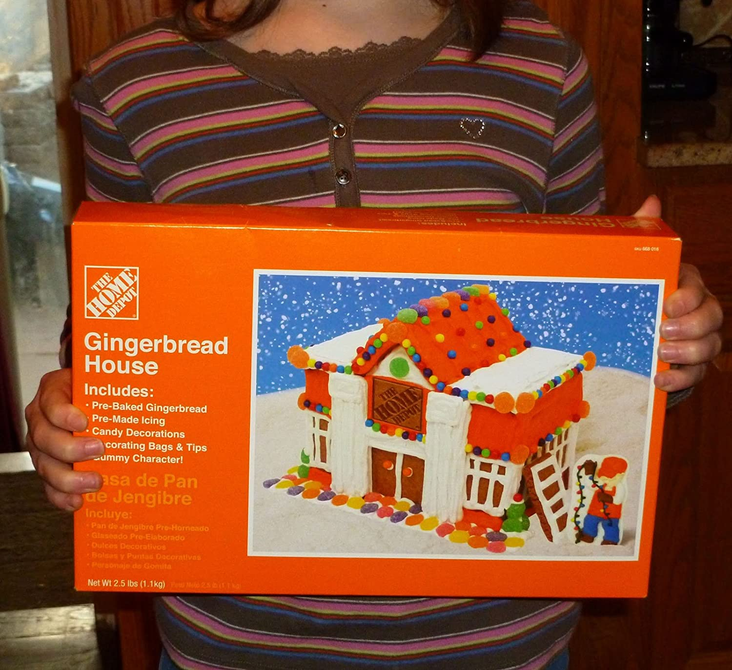 Amazon The Home Depot Gingerbread House
