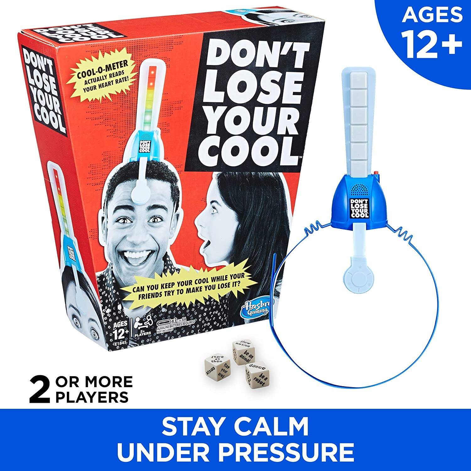 Dont Lose Your Cool Game Electronic Adult Party Game Ages 12 /& Up Hasbro E1845