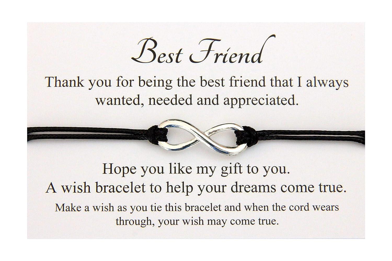 Handmade Wish bracelet for family friends wedding teacher