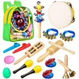 Smarkids Musical Instruments Toddler Toys - Professional Preschool Music Education Toys Percussion Instruments Set Music Earl