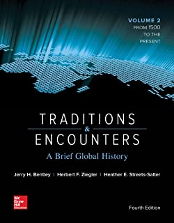 amazon com traditions encounters a global perspective on the rh amazon com Traditions and Encounters Volume 1 Traditions and Encounters AP PDF