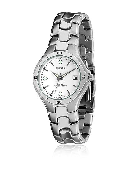 PULSAR PXD-869 Reloj de caballero acero 100m calendario