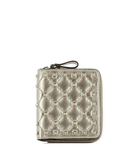 Valentino - Cartera para mujer Mujer dorado Marca Tamaño UNI: Amazon.es: Ropa y accesorios