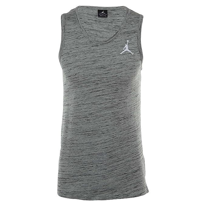 f8b576a73c408e Amazon.com  Jordan All Star Tank Top Heather Grey  Clothing