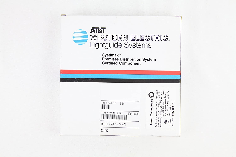 Amazon.com: ATu0026T Western Electric Lightguide Systems Cord, Yellow, 65  Ft./19.8m, FS1E E, #106470826: Home Improvement