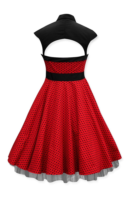 Black Butterfly 'Athena' Polka Dot Large Bow Dress