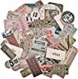 Tim Holtz Idea-ology Expedition Ephemera Pack by, 63 Pieces, Assorted Colors/Designs, TH93115