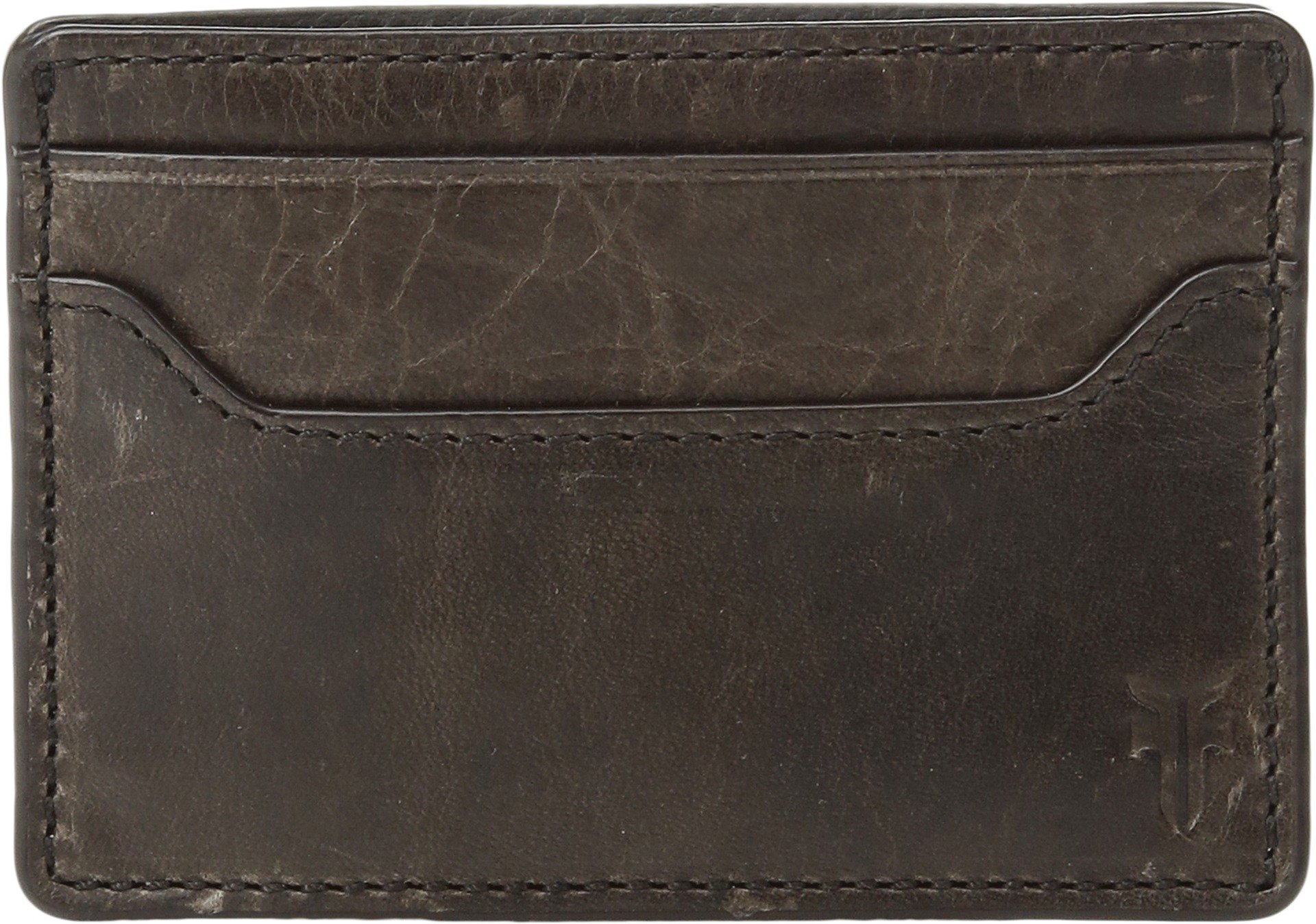 FRYE Men's Logan Money Clip Card Case, Slate, One Size