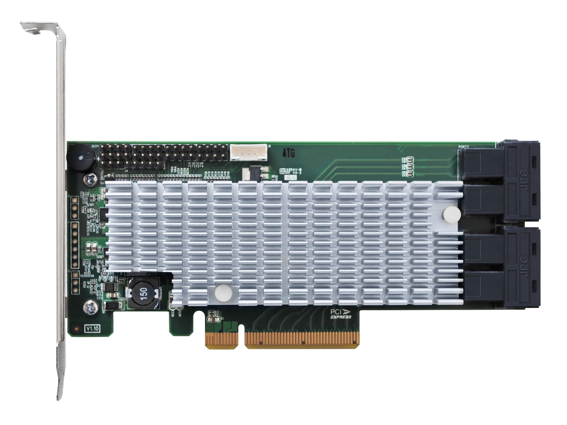 HighPoint RocketRAID 2840A PCIe 3.0 x8 16-Channel 6Gb/s SAS/SATA RAID Host Bus Adapter