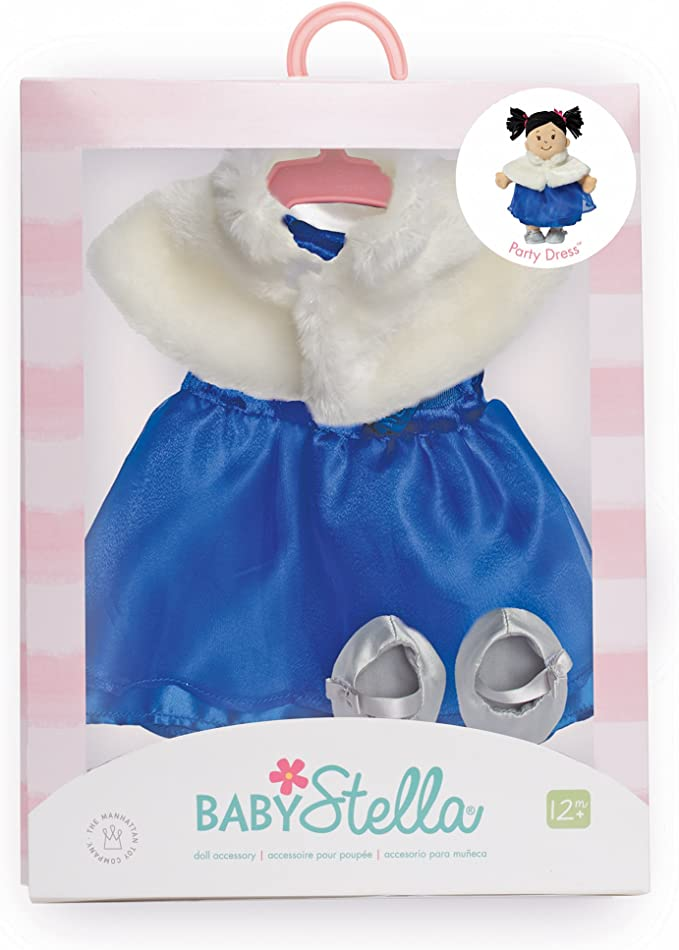 Manhattan Toy Baby Stella Party Dress Baby Doll Clothes for 15