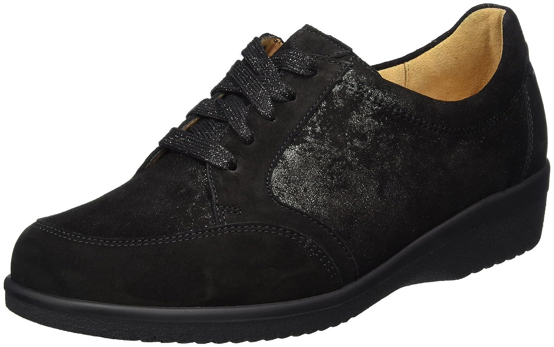 Ganter Sensitiv Inge-I, Zapatos Derby Mujer 37,5 EU (4.5 UK)|Negro (Schwarz)