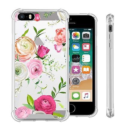 Amazon.com: Carcasa para iPhone SE, iPhone 5S, iPhone 5 ...