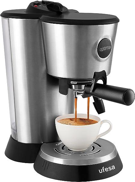Ufesa Cafetera expresso CE7151, 1250 W, Plástico: Amazon.es: Hogar