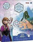LANSAY - 25052, Calendario dell'Avvento con sorpresine per realizzare una parure di Natale, motivo: Frozen