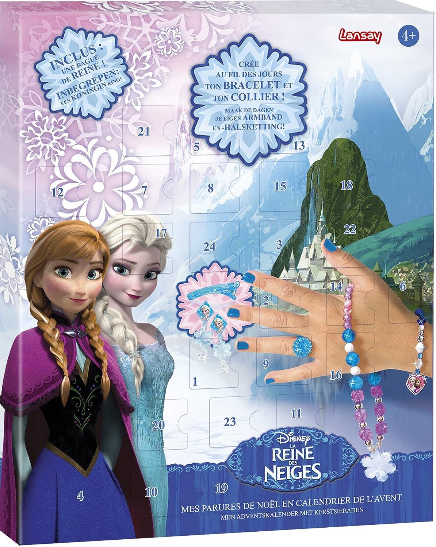 Disney Frozen - Calendario de adviento: Reino de Hielo (Lansay 25052) (versión en francés)