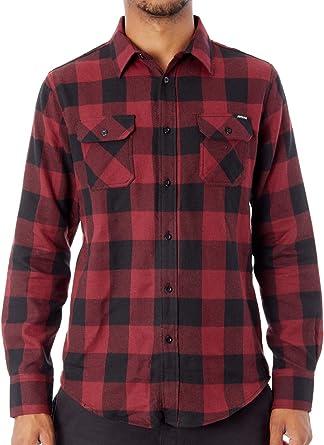 Camisa De Manga Larga Santa Cruz Derby Blood-Negro (L, Rojo ...