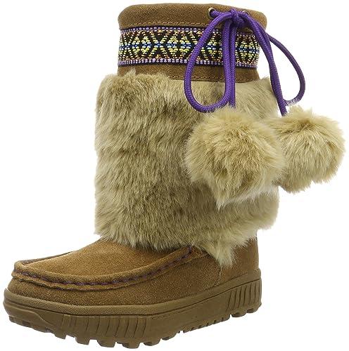 Bearpaw Hope, Botines para Niñas, Marrón (Brown 214), 33 EU: Amazon.es: Zapatos y complementos