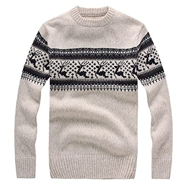 UE,23UJ Mens Sweaters for Winter Mens Christmas Sweater with