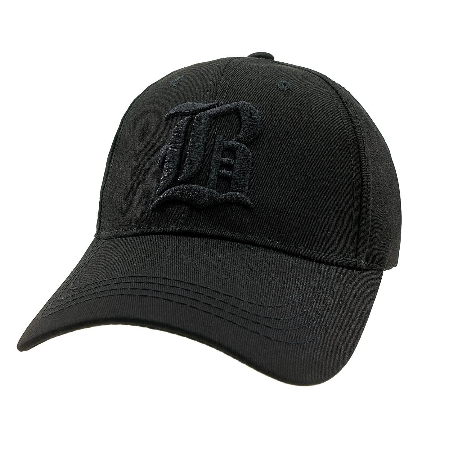 4sold Casual Baseball Gothic B Letter Cap Caps bSnap Back Hat Hats Snapback  (B Black Black)  Amazon.co.uk  Clothing eda4f5af816c