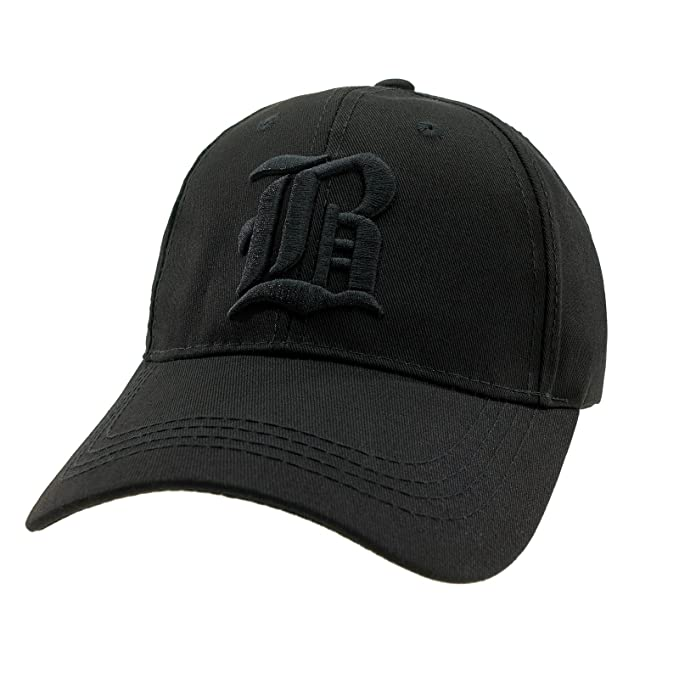be49a42666d 4sold Casual Baseball Gothic B Letter Cap Caps bSnap Back Hat Hats Snapback  (B Black Black)  Amazon.co.uk  Clothing