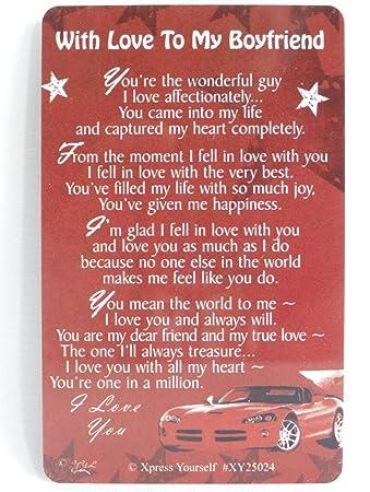 To my boyfriend