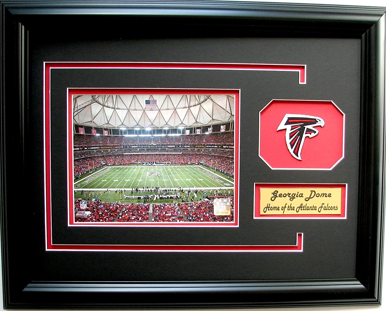 CGI Sports Memories NFL Atlanta Falcons Georgia Dome Bild Rahmen mit ...