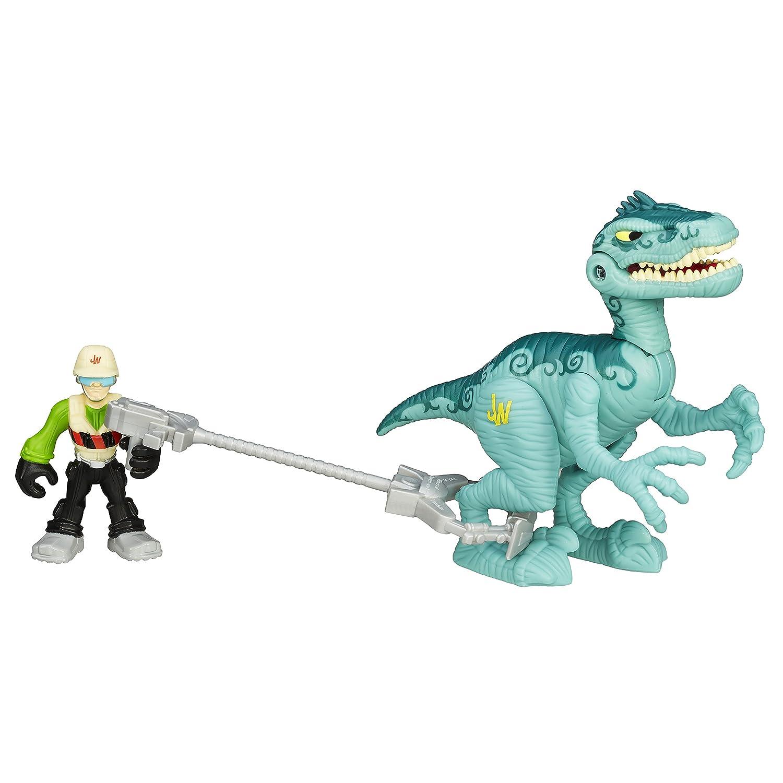 B8409 Playskool Heroes JURASSIC WORLD Dinosauri 5 Figura DINO RUMBLE PACK