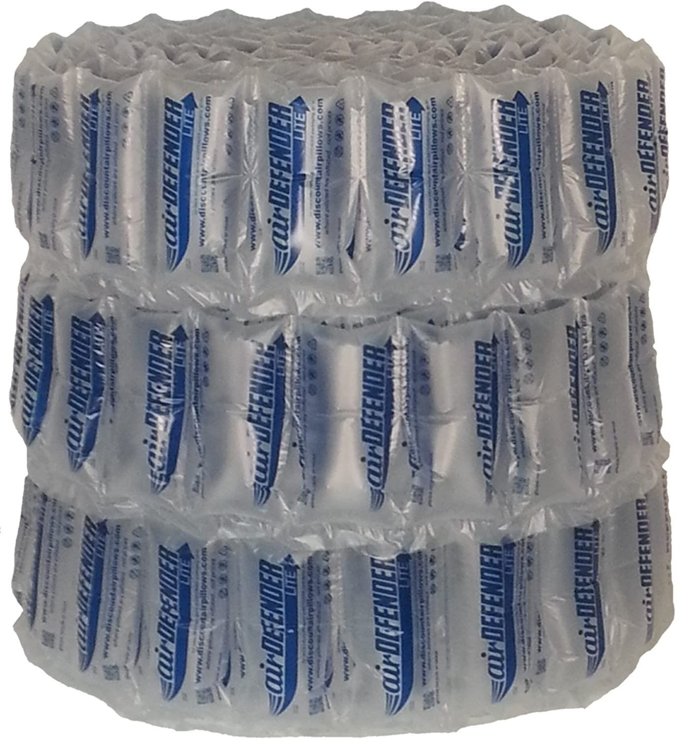 330 Count 4x8 airDEFENDER air Pillows 40 Gallon 5.33 Cubic feet Void Fill Cushioning Shipping Packing Package : Office Products