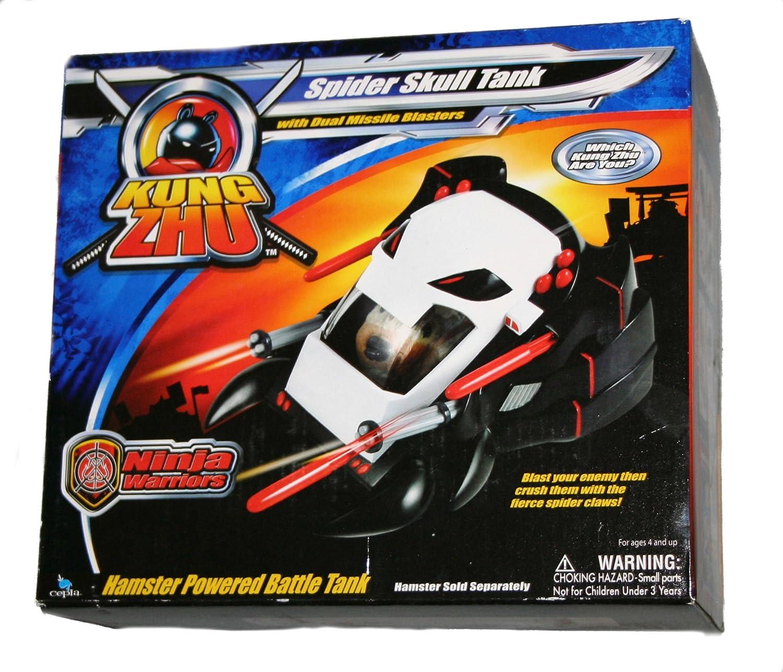 Amazon.com: Kung Zhu Ninja Warrior araña calavera tanque ...