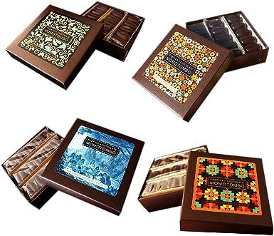 Momotombo-4 Cajas de Bombones de Chocolate Negro Mix-Cacao Nicaragua 70%-4x90gr: Amazon.es: Alimentación y bebidas