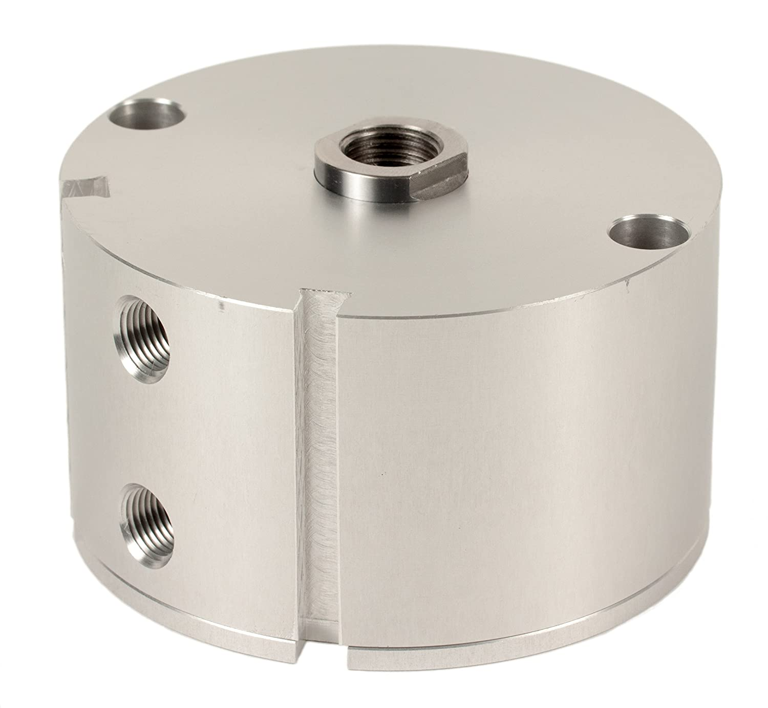 Fabco-Air C-321-X-E Original Pancake Cylinder, Double Acting, Maximum Pressure of 250 PSI, Switch Ready with Magnet, 2' Bore Diameter x 3/4' Stroke
