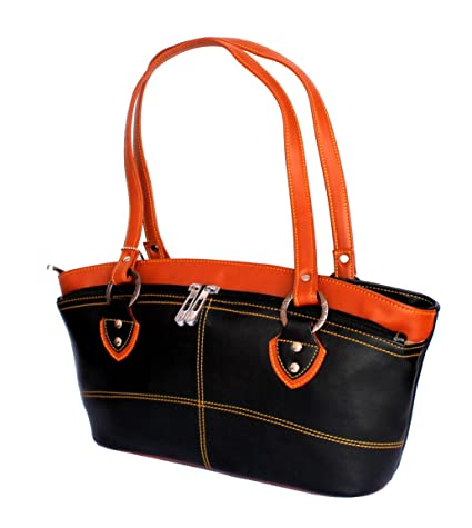 bc54a1fa5c11 Buy STOCK CLEARANCE SALE- Designer Branded Faux Leather Ladies Handbag  Shoulder Bag Satchel Online at Low Prices in India - Amazon.in
