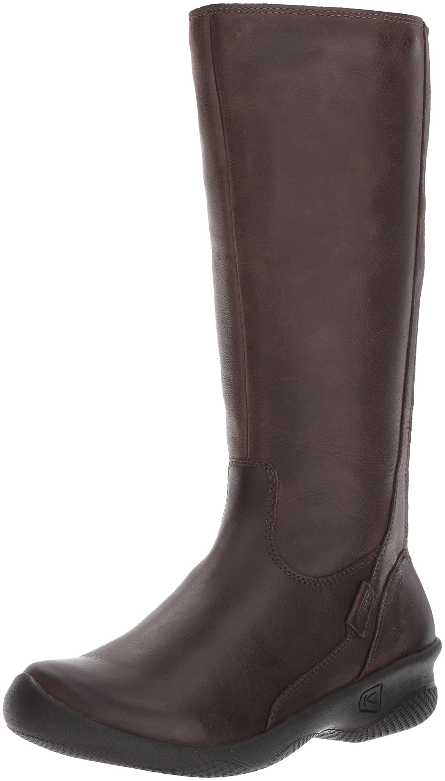 KEEN Women's Baby Bern Ii Tall-w Rain Boot, Mocha, 10 M US by KEEN