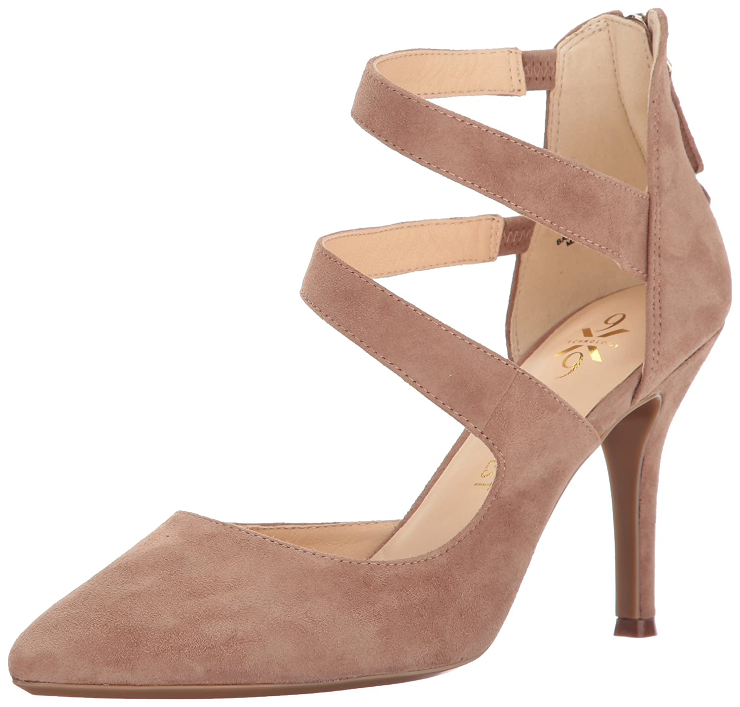 Nine West Women's Florent Pump B01MRSIRP0 7 B(M) US|Natural Suede