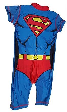 08fa2b9794 Swim Sun Safe Protection UV Suit 50+ Marvel Comics Superman Swimming ...