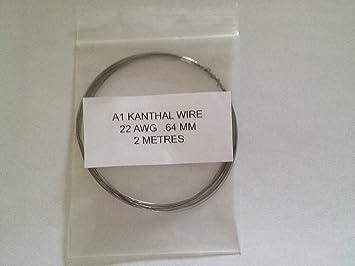 Kanthal A1 Widerstand Draht 22 AWG 0,64 mm 2 Meter Rabba RBD Spulen ...