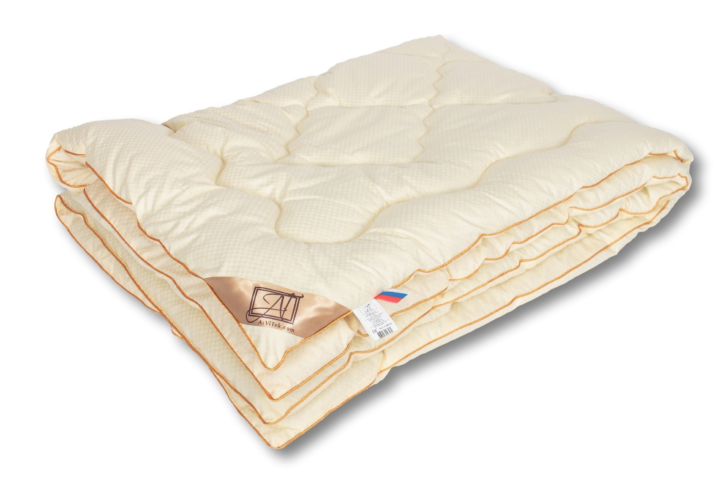 Smart And Cozy Moderatic Crib/Baby Comforter with Merino Wool, Quilted