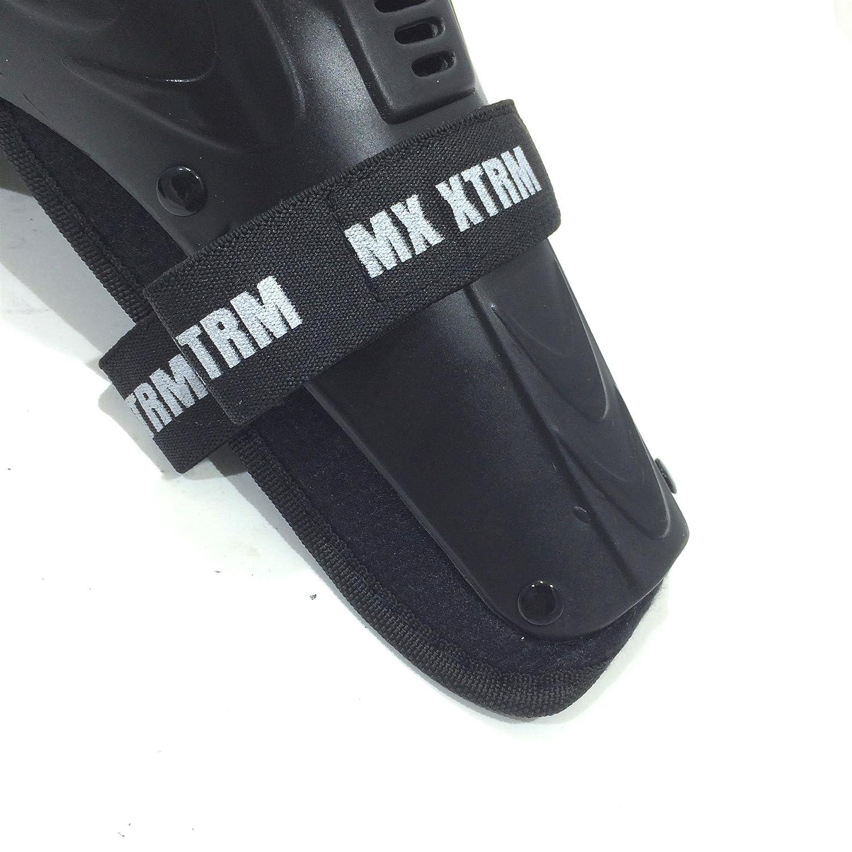 XTRM KIDS OFF ROAD MOTOCROSS CUB KNEE SHIN GUARD CE ARMOUR PROTECTOR DEFENDER PAD PAIR SET