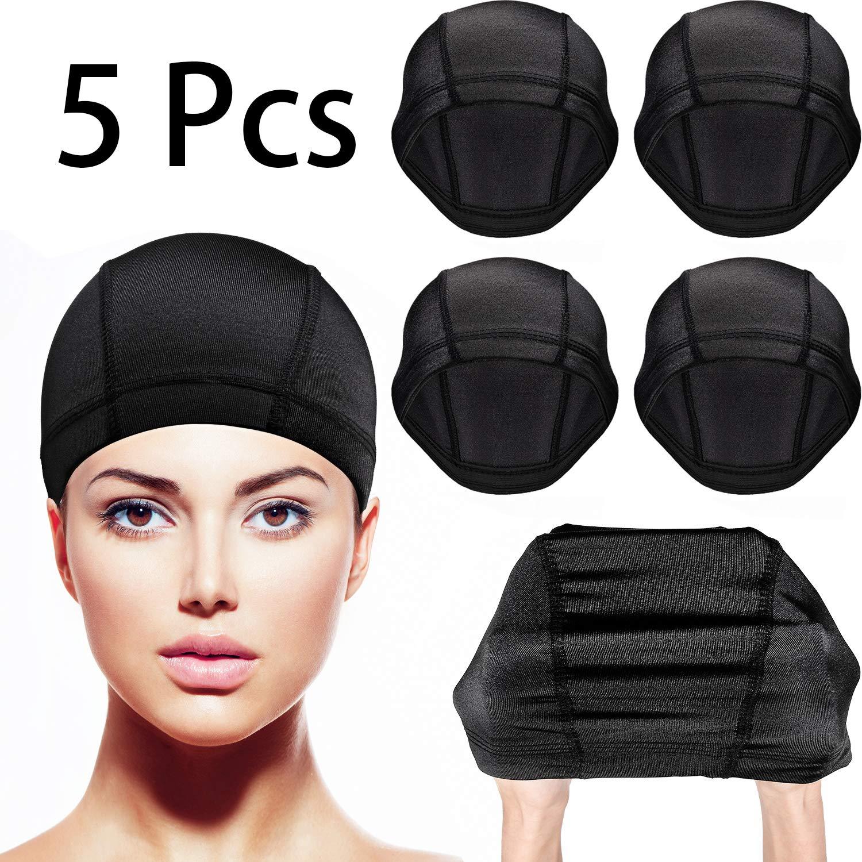Wig Cap Black Nylon Accessory NEW