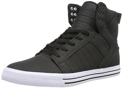 Supra Skytop - Zapatillas para Hombre, Color Black/Metallic - White blk, Talla 44.5