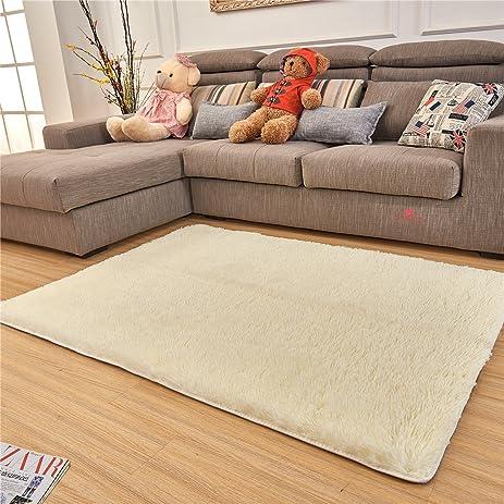 Amazon Adasmile Super Comfortable Thin Indoor Modern Shaggy