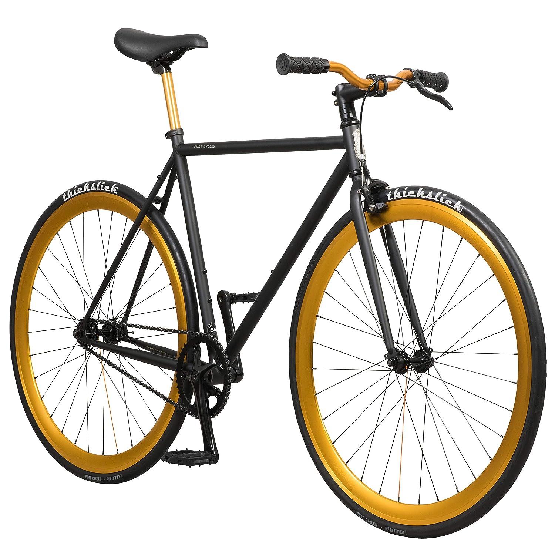 1bf056e6d79 Amazon.com : Pure Fix Original Fixed Gear Single Speed Fixie Bike : Fixed  Gear Bicycles : Sports & Outdoors