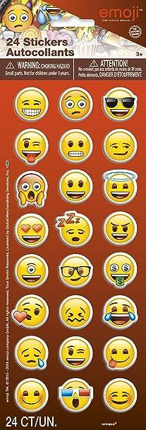 12pcs Emoji Parti Favor Fun Toys 4.5 cm Emoji Smiley émotion déformable Figure