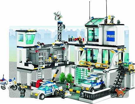 Lego City 7744 Police Station Amazon Co Uk Toys Games