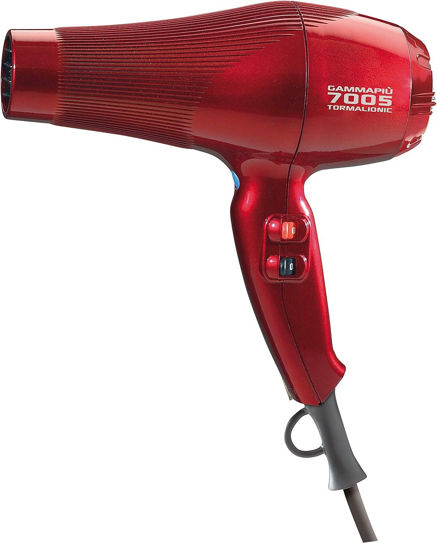 Gamma Piu 7005 - Secador de pelo, color rojo