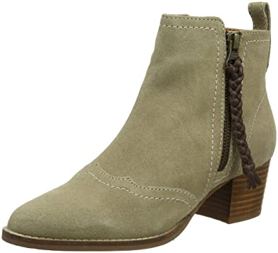 Joe Browns Dakota Suede Ankle Boots, Bottines Femme, (Natural A), 42 EU