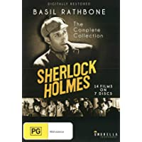 Sherlock Holmes: The Complete Collection (Basil Rathbone)