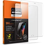 Spigen Tempered Glass Screen Protector Designed for Galaxy Tab S3 (2017) [9H Hardness/Case-Friendly] (2 Pack)